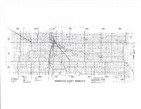 Pennington County Highway Map, Pennington County 1998